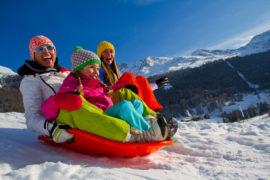 Ski with family